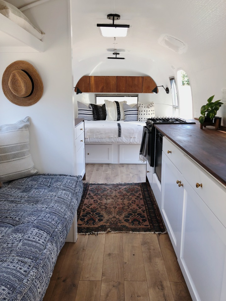 Josephine the airstream renovation